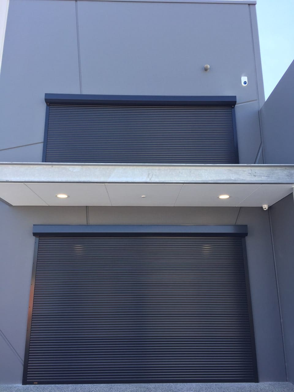 2 commercial windlock roller shutters installed in Bibra Lake